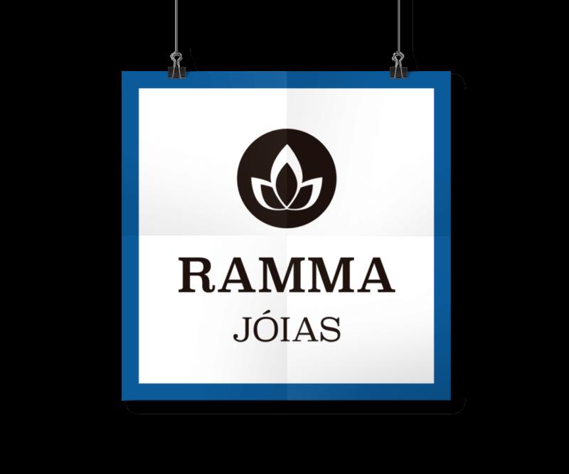 Portfólio Identidade Visual - Logotipo e Papelaria - Ramma Jóias - I9ME Web & Design
