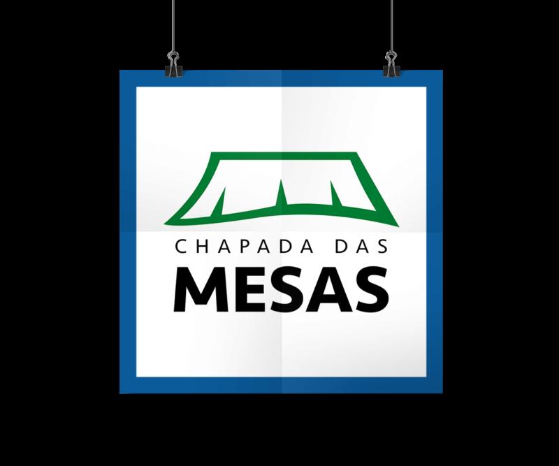 Portfólio Identidade Visual - Logotipo Portal Chapada das Mesas - I9ME Web & Design