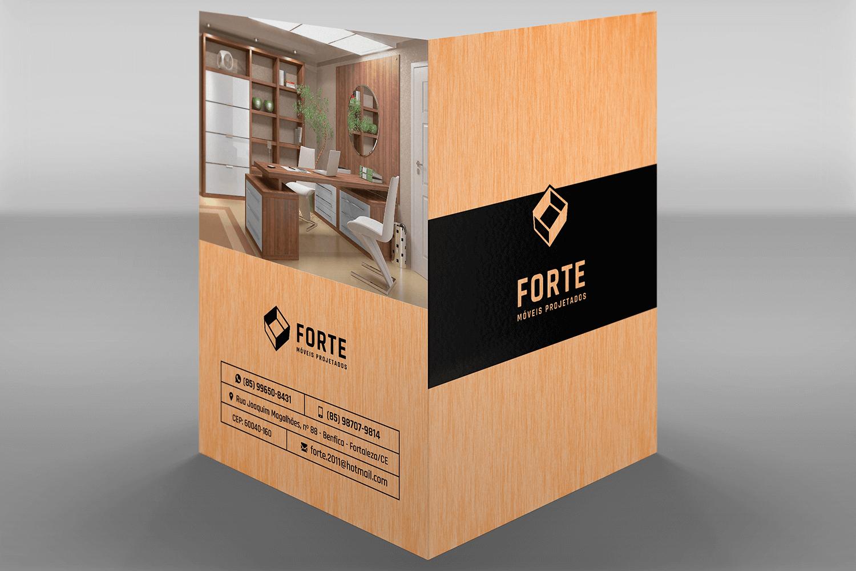 Portfólio Identidade Visual - Modelo de Pasta - I9ME Web & Design - Fortaleza - CE