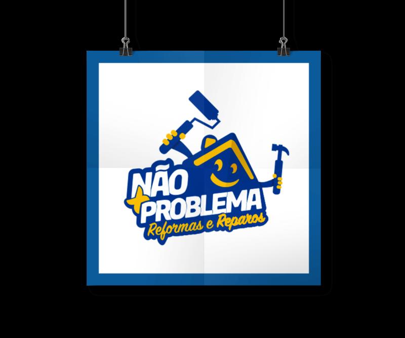 Portfólio Identidade Visual - Logotipo Não Mais Problema - I9ME Web & Design