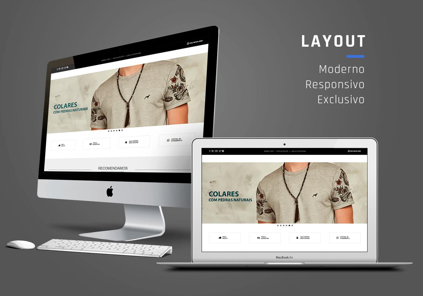 Portfólio: E-commerce Dogma Store - I9ME Web & Design